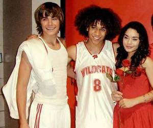 Chad, gabriella, and troye image