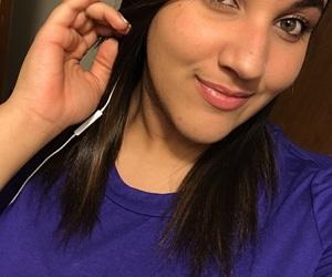 blue, eyelashes, and pink lips image