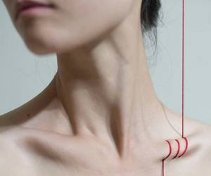 pale, art, and collarbones image