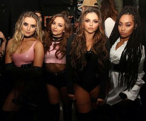 jesy nelson, perrie edwards, and leigh anne pinnock image