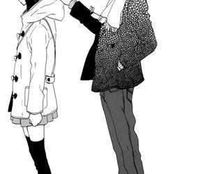 manga, couple, and kawaii image