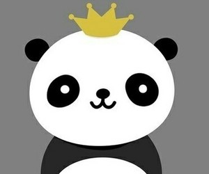 panda and king image