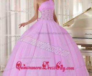 princesa, rosa, and vestidos image
