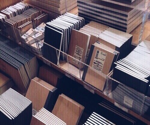 aesthetic, brown, and book image