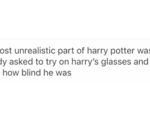 funny, glasses, and harry potter image