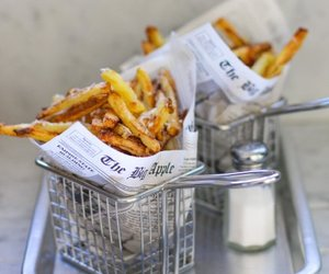 dinner, fries, and food image
