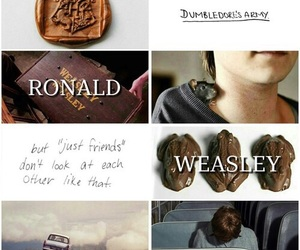 weasley, harry-potter, and ron-weasley image