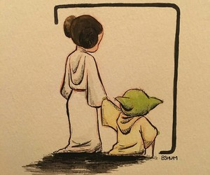 Princess Leia, star wars, and carrie fisher image
