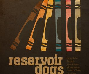 reservoir dogs, poster, and tarantino image
