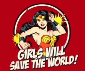 girl, wonder woman, and girl power image
