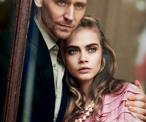 tom hiddleston, cara delevingne, and model image