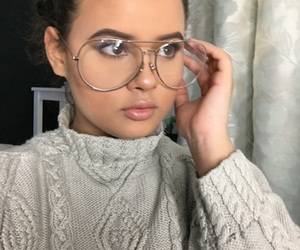 classy, glasses, and goals image