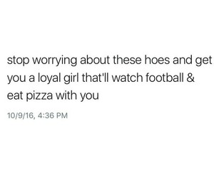 football, hoes, and pizza image