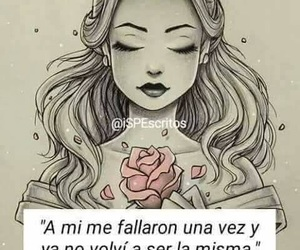 girl, woman, and frases image