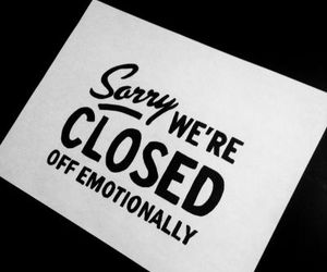 quotes, sign, and sorry image