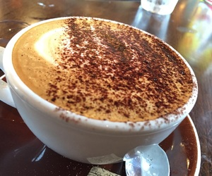 cafe, coffee, and capuccino image