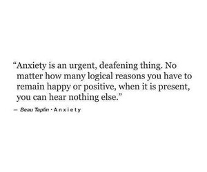 anxiety, hurt, and life image