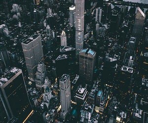 city, buildings, and manhattan image