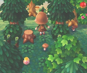 animal crossing, ds, and forest image