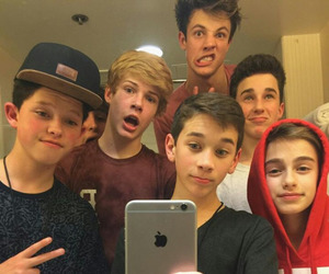 cameron dallas, johnny orlando, and jacob sartorius image