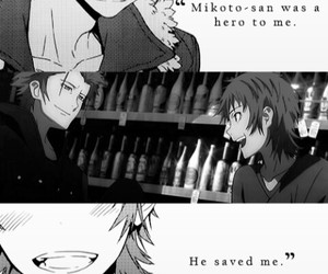 anime, k project, and red king image