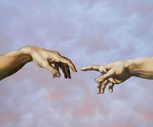 art, hands, and aesthetic image