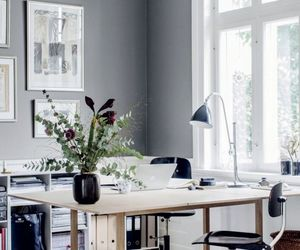 home, workspace, and life image