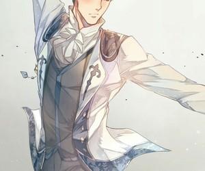 yuri on ice, anime, and otabek altin image