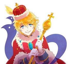 the king, otome game, and kazuaki nanaki image