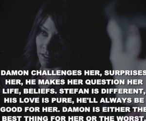 quote, rose, and delena image