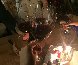 wine, aesthetic, and alternative image
