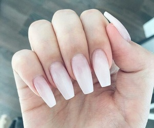 nails, beauty, and pink image