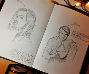 skam, william, and noora image