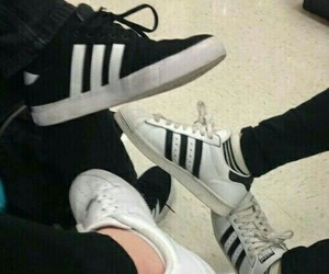 adidas, shoes, and friends image