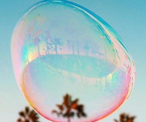 bubbles, photography, and summer image