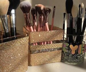 fashion, glitter, and lashes image