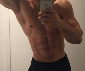boy, guy, and abs image
