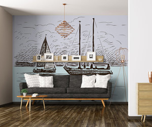 boats, ideas, and interior design image