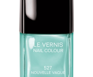 chanel, mint, and nail image