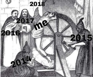 20's, new year, and suffering image