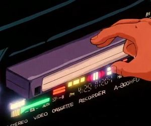 anime, retro, and vaporwave image