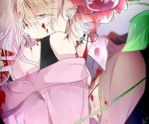 diabolik lovers, anime, and blood image
