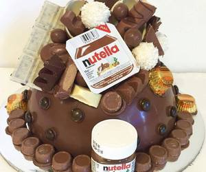 cake and nutella image