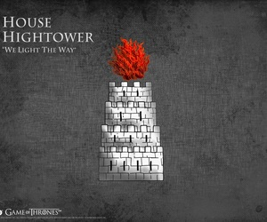 game of thrones, house tyrell, and house hightower image