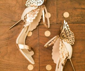 glam, gold, and heels image