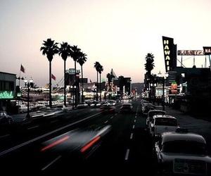 city, hollywood, and california image