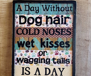 etsy, wall decor, and dog lovers image