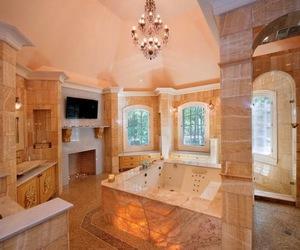 bathroom and home image