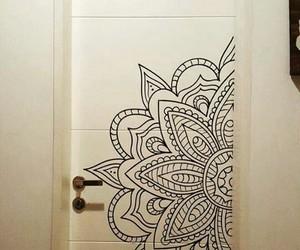 deco, decoracion, and door image