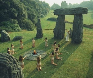ritual, pagan, and witch image